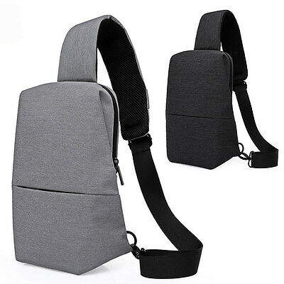 Newly Men Chest Pack Youth Cycling Shoulder Pouch Anti-scratch Travel Sling Bag