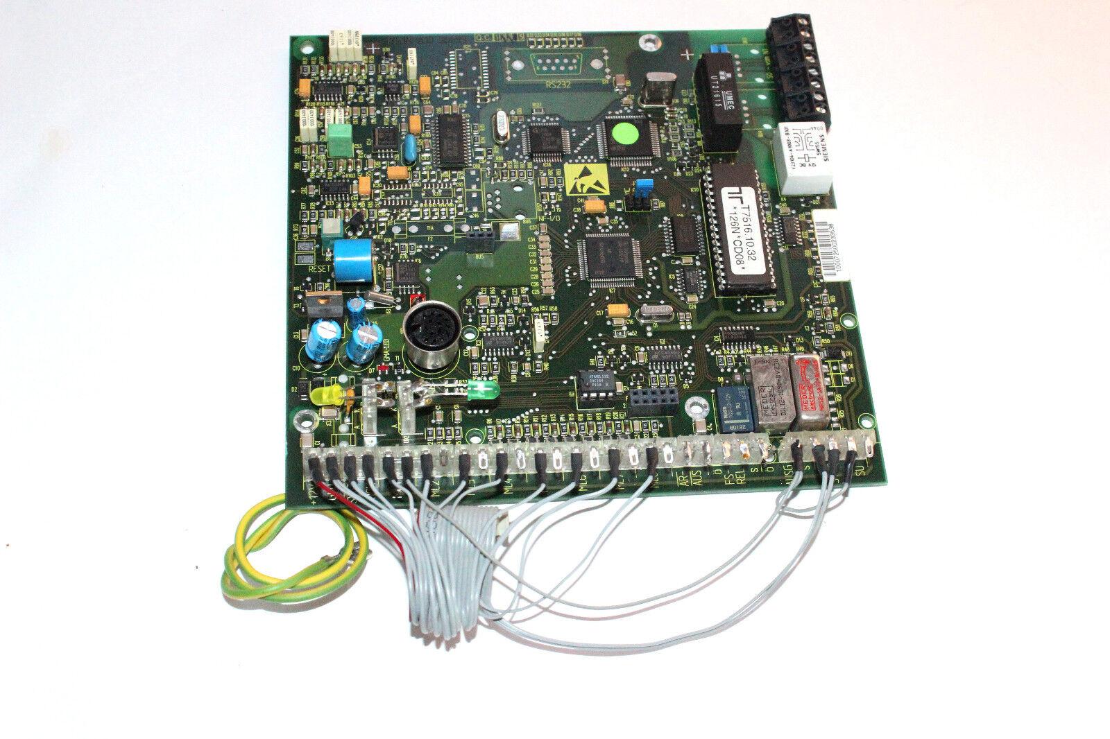 TELENOT / ALARMCOM / EFFEFF T7516D ISDN Telefonwählgerät V10.32 VDS