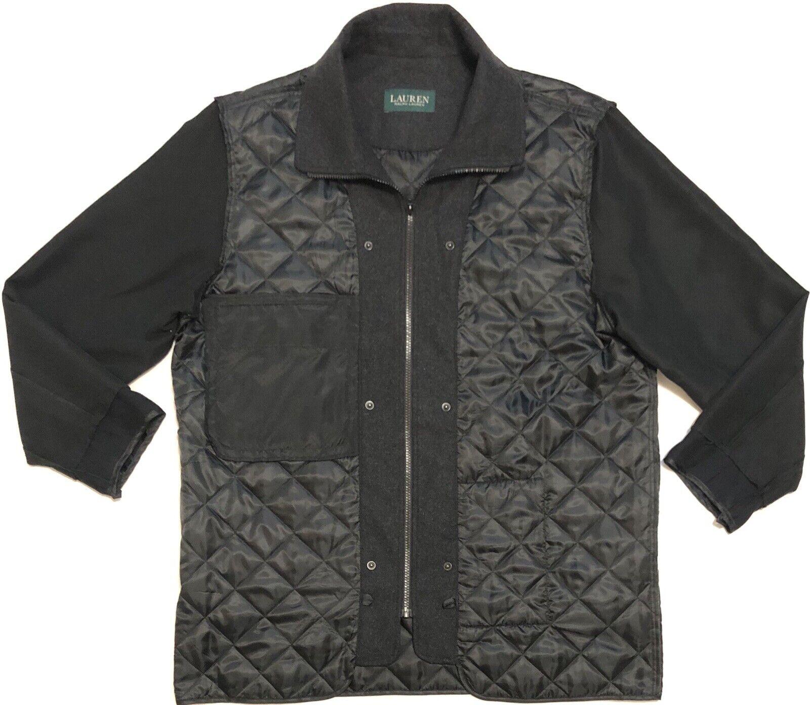 Vtg Ralph Lauren Mens Full Zip Coat Sz 44R
