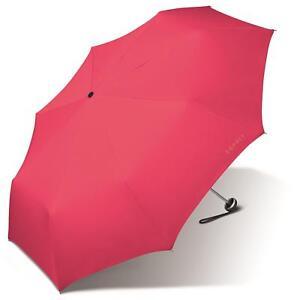 Schirme Kleidung & Accessoires Esprit Alu Light Regenschirm Minischirm Damenschirm Taschenschirm Schirm Berry Zahlreich In Vielfalt