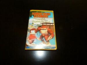donkey kong country legend of the crystal coconut vhs vintage
