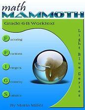 Math Mammoth Grade 6-B Worktext by Maria Miller (2015, Paperback)
