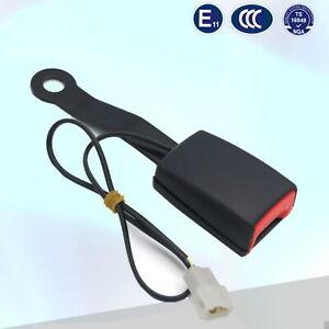 Auto-Sicherheitsgurt-Schloss-Schnalle-Polsterung-Steckdose-Stecker-mit-Kabel