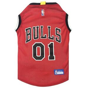 Chicago-Bulls-NBA-Officially-Licensed-Pets-First-Dog-Pet-Mesh-Red-Jersey