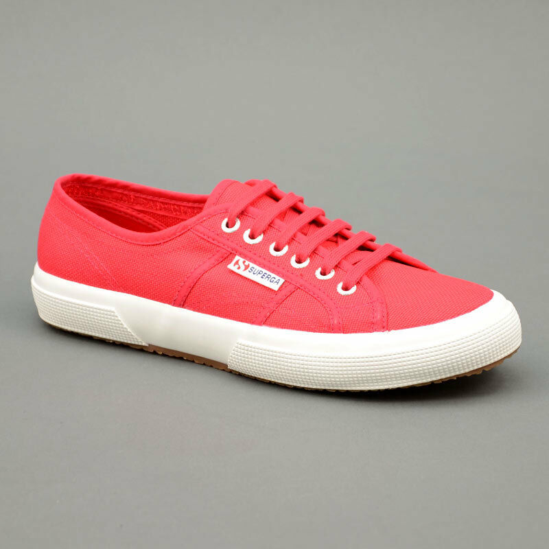 Superga Cotu klassisch rot rot Mod. 2750-C62