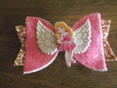 environ 7.62 cm Filles Disney Princesses clips cheveux Sparkle Bling clips cheveux 3 in