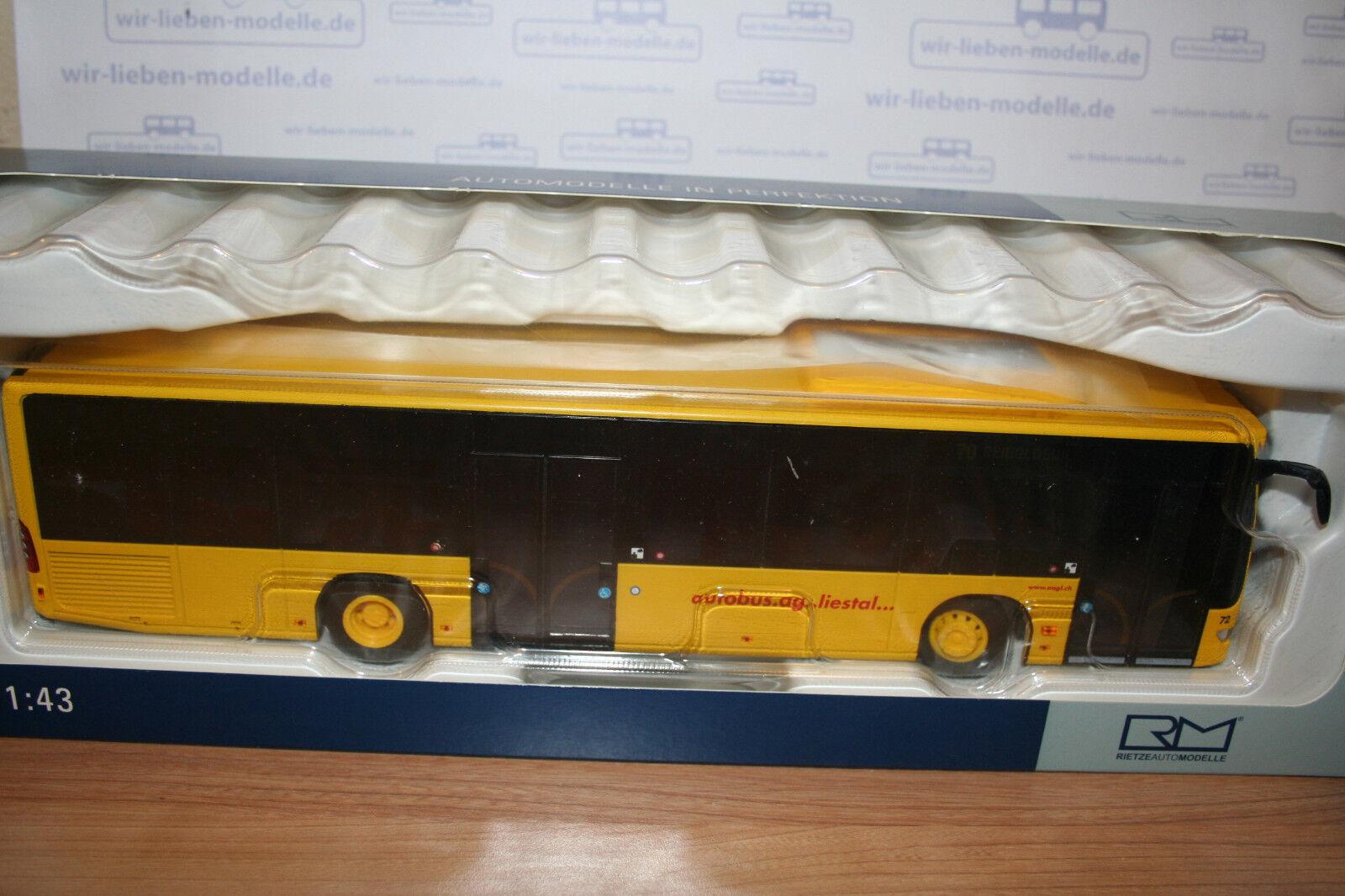 Rietze 14232, Mercedes MB Citaro, 1 43, Autobus Autobus Autobus AG; Liestal, Schweiz, neu, OVP  | Authentische Garantie  114381