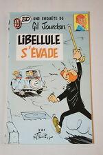 GIL JOURDAN-LIBELLULE S'EVADE J'AI LU BD TILLIEUX 1987