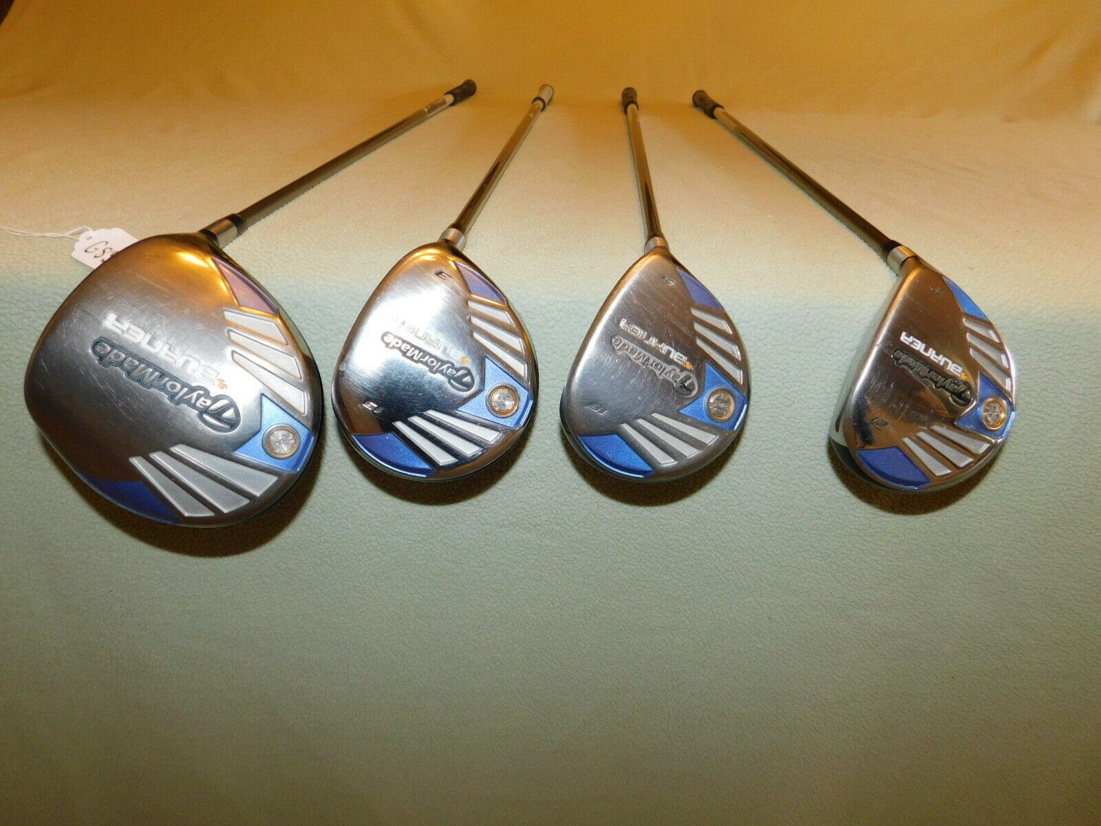 2007  Ladies Wohombres Taylor Made Burner Driver, 3 Wood, 5 Wood & 7 Wood   G859  alto descuento
