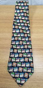 G3-New-South-Park-Tie-Mens-Cartoons-1999-Comedy-Collectable-Funny