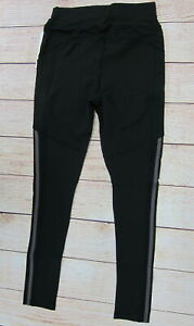 POP-FIT-Women-039-s-Athletic-Workout-Leggings-with-Pockets-Small-Black-NWT
