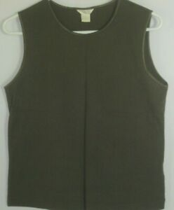 Christopher-amp-Banks-Size-Large-Soft-and-Comfy-Dark-Green-Tank-Top