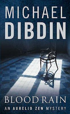 Blood Rain (Aurelio Zen 07), Michael Dibdin | Paperback Book | Acceptable | 9780