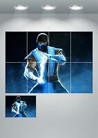 Mortal Kombat X Large Wall Art Poster Print A3/A4 Sections or Giant 1Piece A0 A1