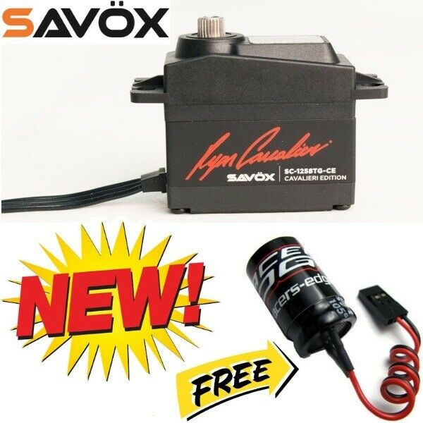 Savox SC1258TG-CE Coreless Digital Servo Ryan Cavalieri  edizione + Glitch autoautobuster  autentico