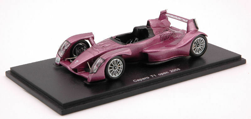 Caparo T 1 Open 2008 violet 1 43 Model S0629  SPARK MODEL  jusqu'à 65% de réduction