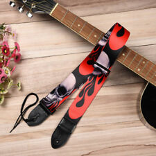 Punk Rock Metal Devil Horns Guitar Cross Strap Free Tracking US Seller New