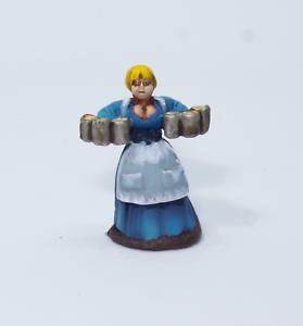 Painted-Miniature-Townsfolk-Woman-Pathfinder-Rpg-DnD-Reaper-Bones