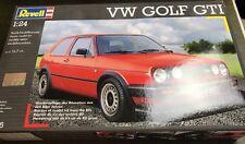 revell 1/24 07005 volkswagen vw golf gti model car kit sealed