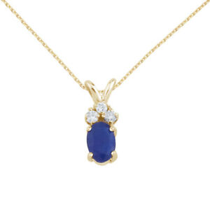 14K-Yellow-Gold-Sapphire-Pendant-with-Diamonds-and-18-034-Chain