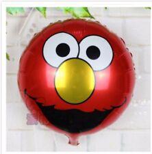 """Elmo 18"""" 45cm round foil balloon Sesame Street"""