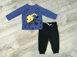 NEW-Kids-Headquarters-Baby-Boys-T-Shirt-amp-Jogger-Pants-Set-Size-12M-24M
