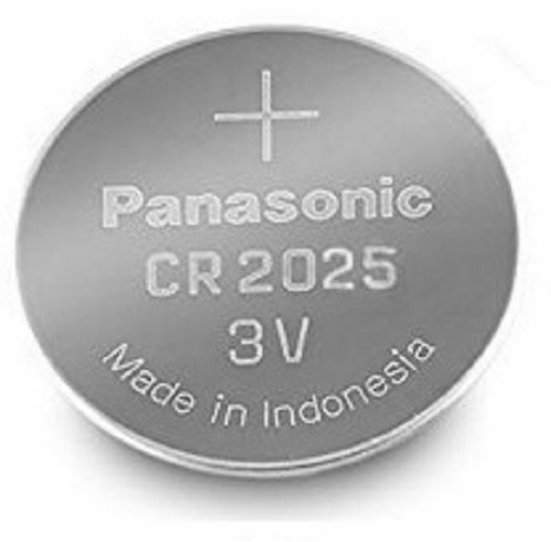 6 Panasonic CR2025 3V Lithium Coin Cell Battery 2025 For Watches Fob Keys Alarm