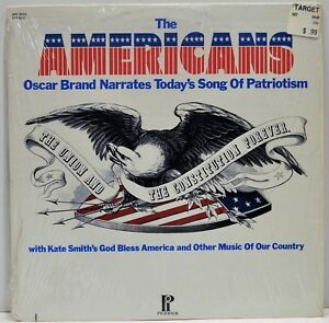 THE AMERICANS   Oscar Brand / Kate Smith   1974 Vinyl LP   Pickwick SPC3372