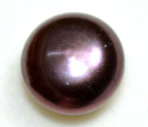 5-40-Ct-Natural-Red-Black-Tahitian-South-Sea-Pearl-Certified-Round-Cut-Gemstone