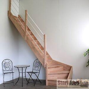raumspartreppe rhodos 1 4 gew links mit setzstufen holz. Black Bedroom Furniture Sets. Home Design Ideas