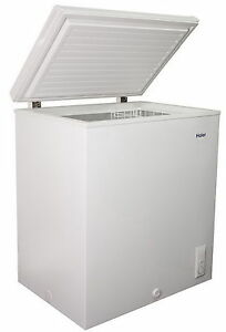 New Large Haier Chest Freezer 5.0 Cu Ft Deep Freeze ...