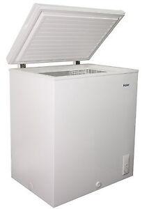 New Large Haier Chest Freezer 5.0 Cu Ft Deep Freeze ...