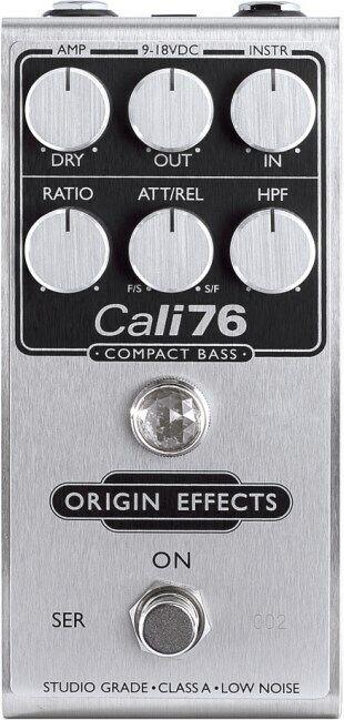 Origin Effects Cali76 Compact Bass FET Compressor Pedal