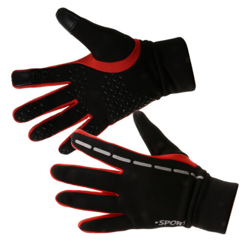 Touch Screen /& Windproof Outdoor Sports Cycling Hiking Full Finger Gloves Mitts