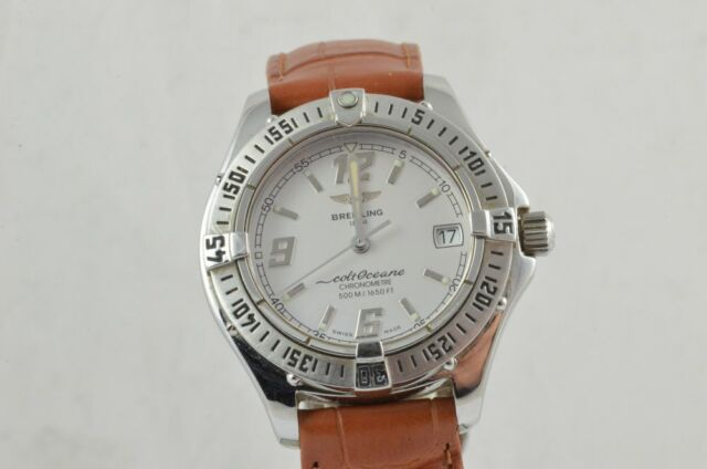 Breitling Colt Oceane Women's Watch A57350 Quartz from 2001 with Issues
