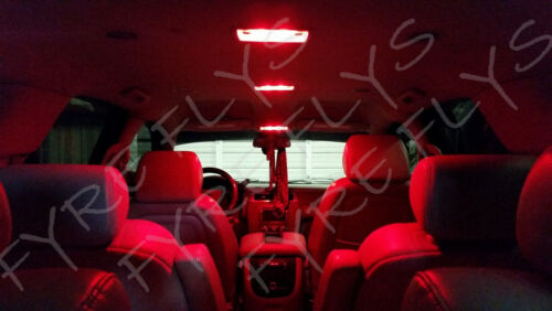 6x Red LED lights interior package kit for 2010-2015 Chevy Camaro CC4R