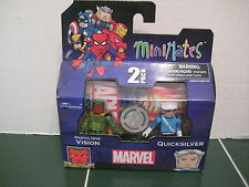 Marvel Minimates Quicksilver and Marvel Now Vision Exclusive Set