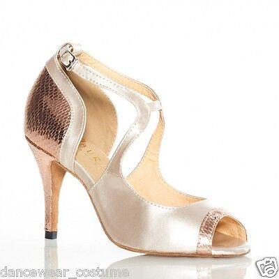 Ladies Party Ballroom Latin Tango Jazz Samba Salsa Dance Shoes Heels Sandals 5-9