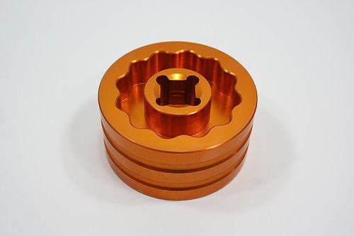 New CNC Billet Aluminum Rear Sprocket Wheel Socket Nut Tool For Ducati MH900