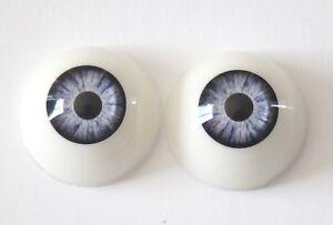 Reborn doll 28mmr61 blue eyes modern//vintage//reborn doll eyes polymer