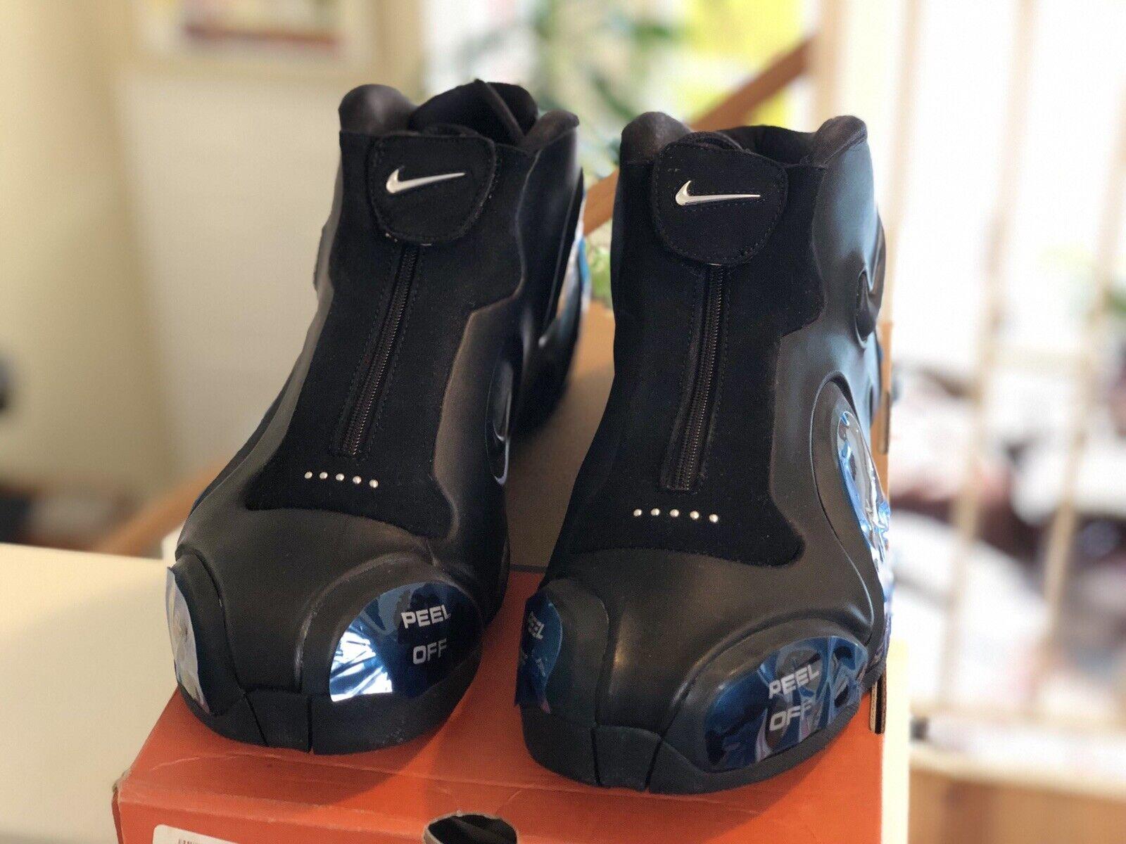 2003 Nike Air Ultraposite Foamposite 304884 001 KG Kevin Garnett Black Size 11