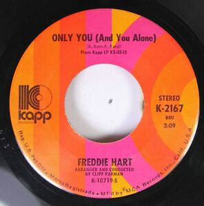 Country-45-Freddie-Hart-Only-You-And-You-Alone-Funny-Familiar-Forgotten