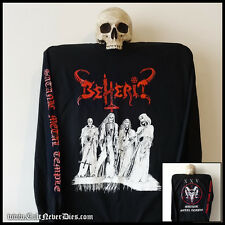 BEHERIT official longsleeve shirt (sizes S-XXL) [Black Metal, Mayhem, Blasphemy]
