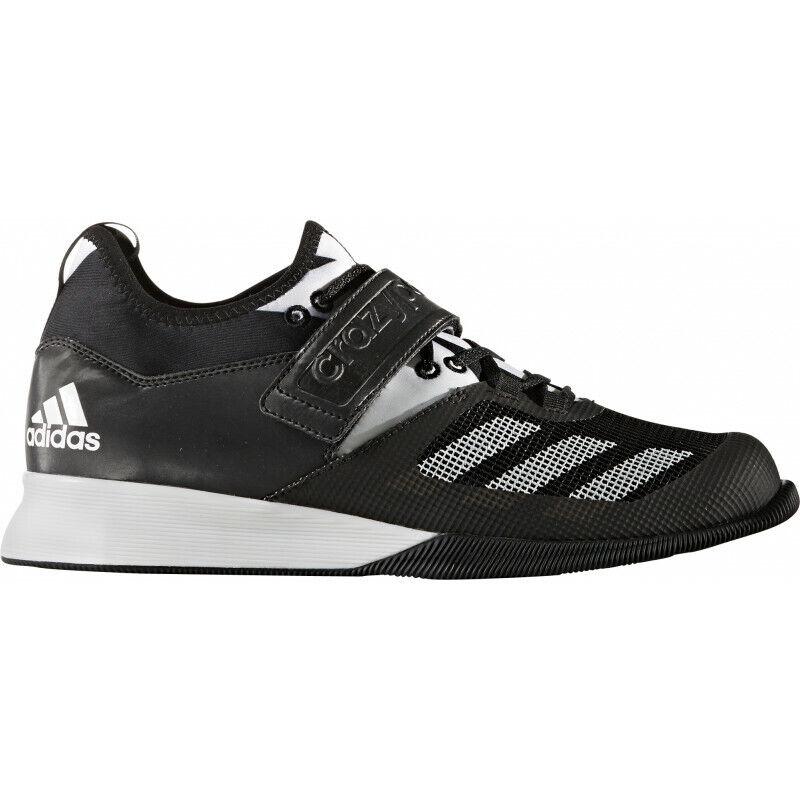 Para Hombre Para Hombre Zapatos de Halterofilia Adidas Crazy Power-Negro