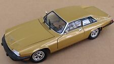 rare 1:18 Road Signature 1975 Jaguar XJS diecast metallic gold 2 door coupe