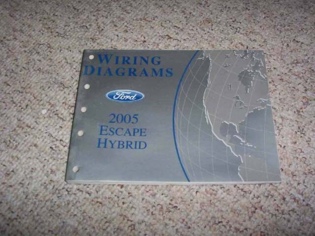2005 Ford Escape Hybrid Electrical Wiring Diagram Manual 2