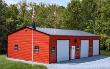 30x50 Steel Garage Storage Building Free Del Amp Installation Prices Vary
