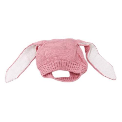 Baby Rabbit Ears Hat Infant Toddler Autumn Winter Knitted Caps For Baby Hats LA