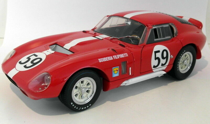 sin mínimo Exoto  Scale Diecast 18004 1965 Cobra Daytona Daytona Daytona Version Filipinetti Coupe  wholesape barato