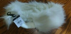 Elegant-White-Ear-Muff-Covering-Headband-by-Wilson-039-s-Leather-NWT-REVERSIBLE